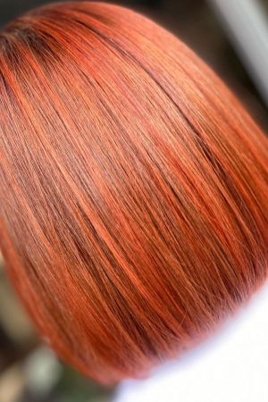 red hair colours and salon deals top Newcastle salons