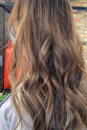 balayage hair colour, Northumberland