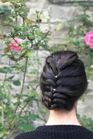 HAIR UP STYLES FOR WEDDINGS AT LA SUITE HAIR & BEAUTY SALON IN CORBRIDGE