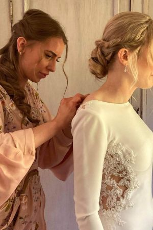 Boho Bridal Hairstyles at La Suite hair and beauty salon in Northumberland